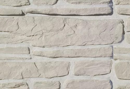 """Декоративный камень (угловая) Bergstone """"Гранитный разлом"""" 160400У белый (7-9/25-28Х12Х2.5 см)"""