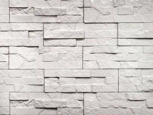 "Декоративный камень Bergstone ""Каменистый уступ"" 160700 белый (29.8Х9.2Х0.5-1.5 см)"